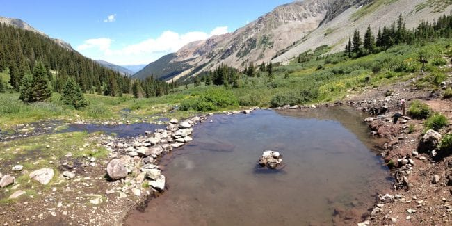 Hike Conundrum Hot Springs Free Primitive Pool