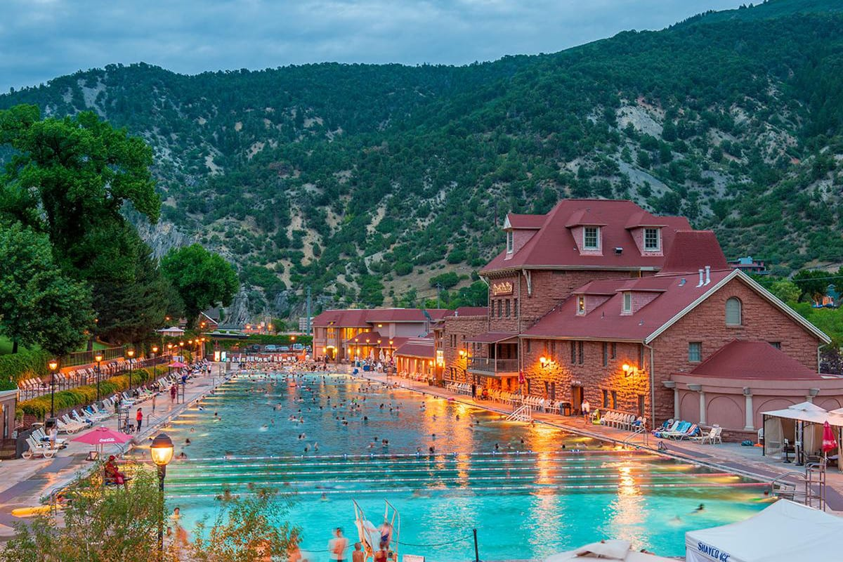 Glenwood Hot Springs Swimming Pool Colorado