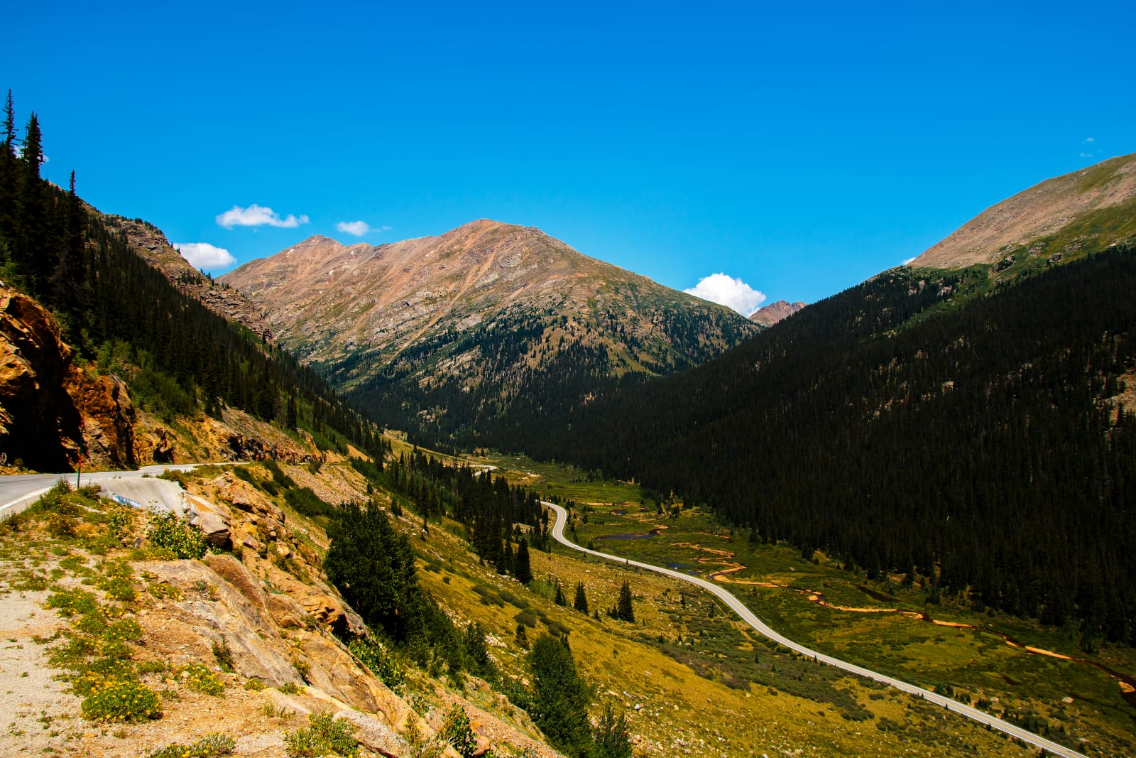 Independence Pass Highest Paved Roads Colorado