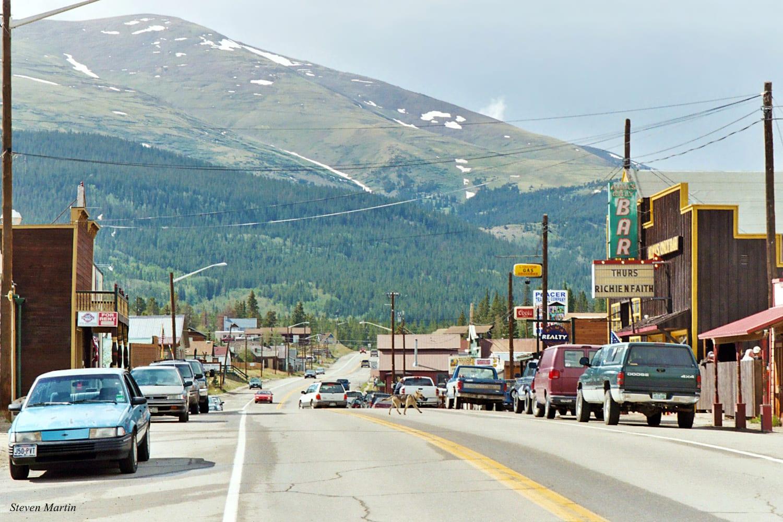 Mount Bross Colorado Downtown Alma