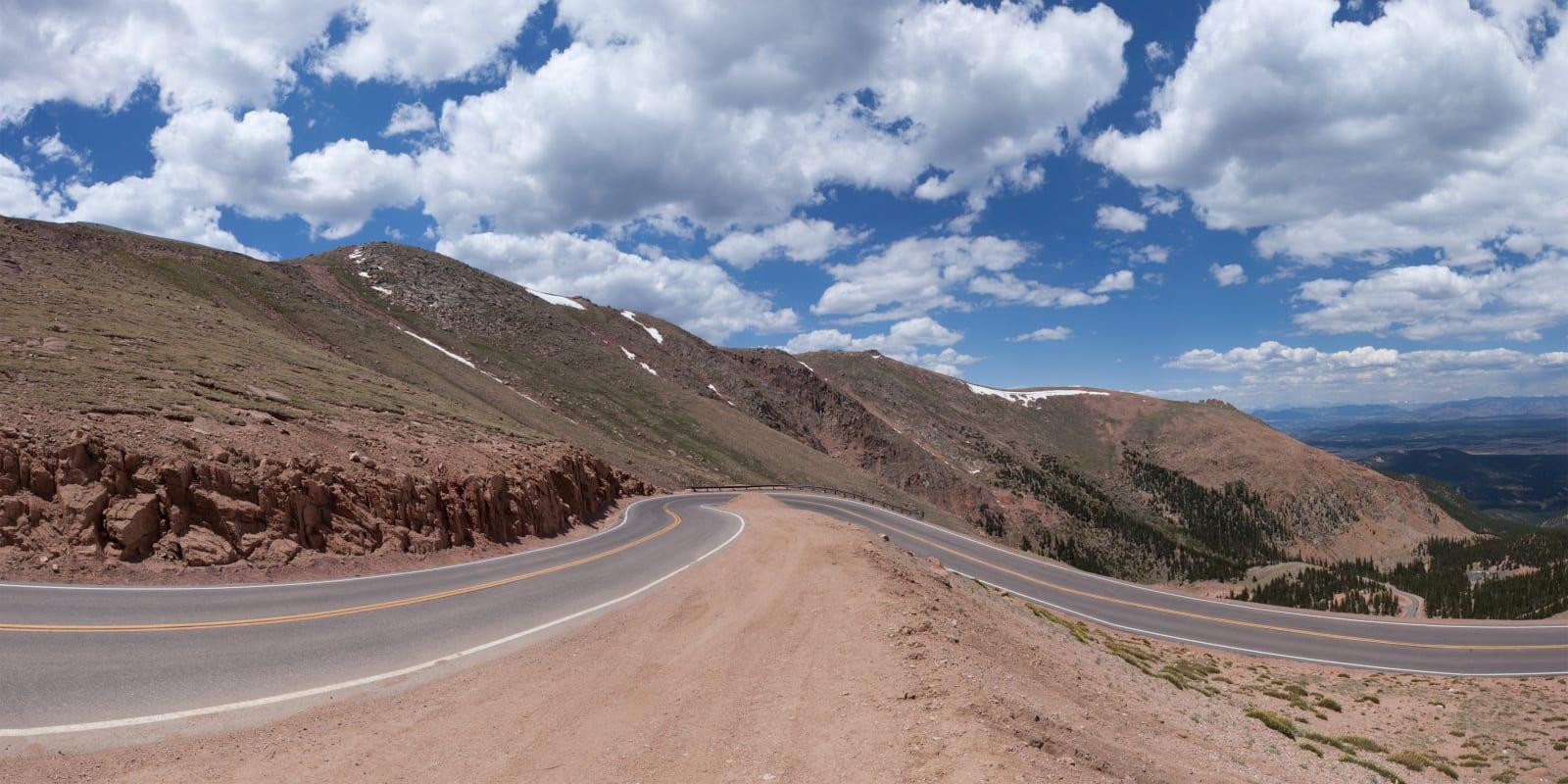 Highest Roads Colorado Pikes Peak Highway