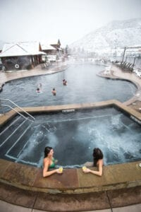 Iron Mountain Hot Springs Colorado