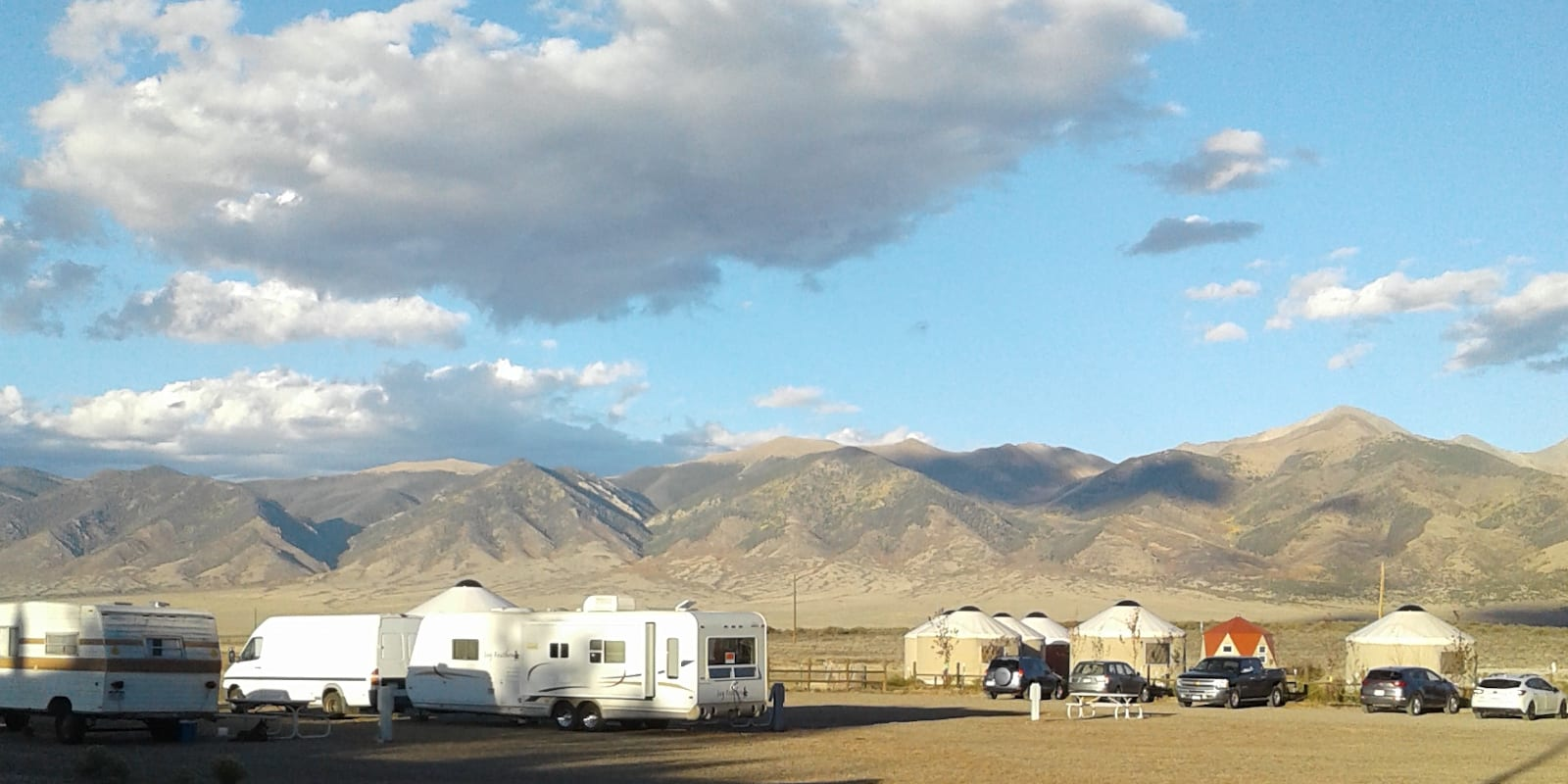 RVs Camping Joyful Journey Hot Springs Colorado