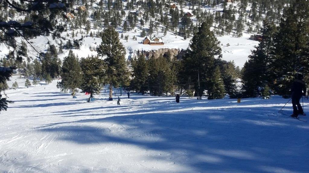 Lake City Ski Hill Colorado Winter