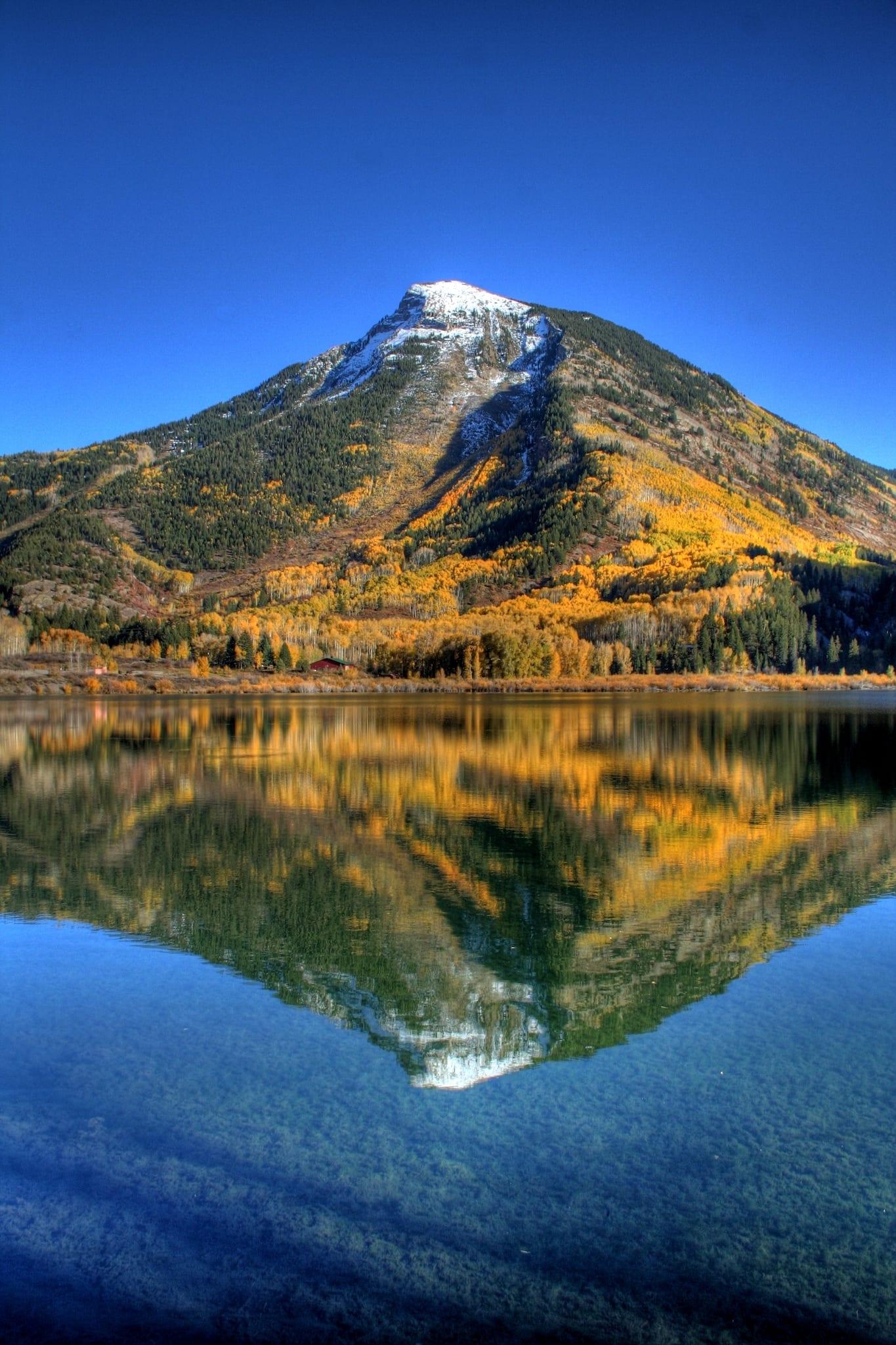 Marble CO Beaver Lake Reflections