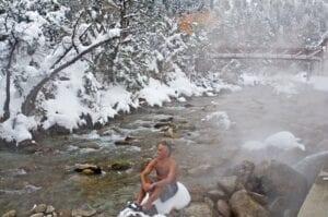 Mt Princeton Hot Springs Creekside Pools