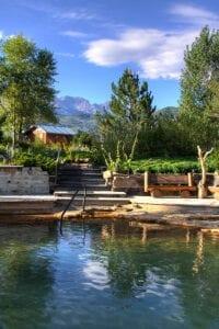 Hot Springs Loop Orvis Hot Springs Pool