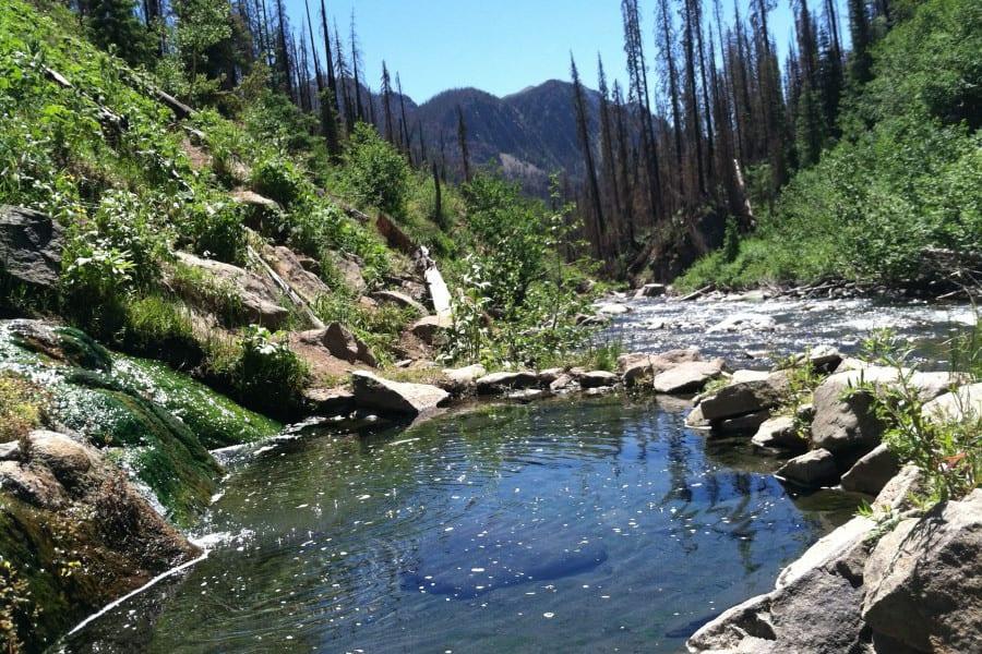 Rainbow Hot Springs Colorado Camping