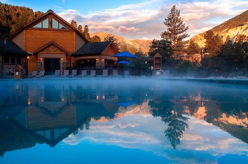 Mount Princeton Hot Springs Nathrop Colorado Relaxation Pool