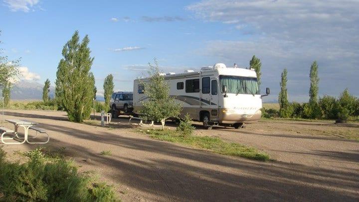 Camping Sand Dunes Pool Colorado RV