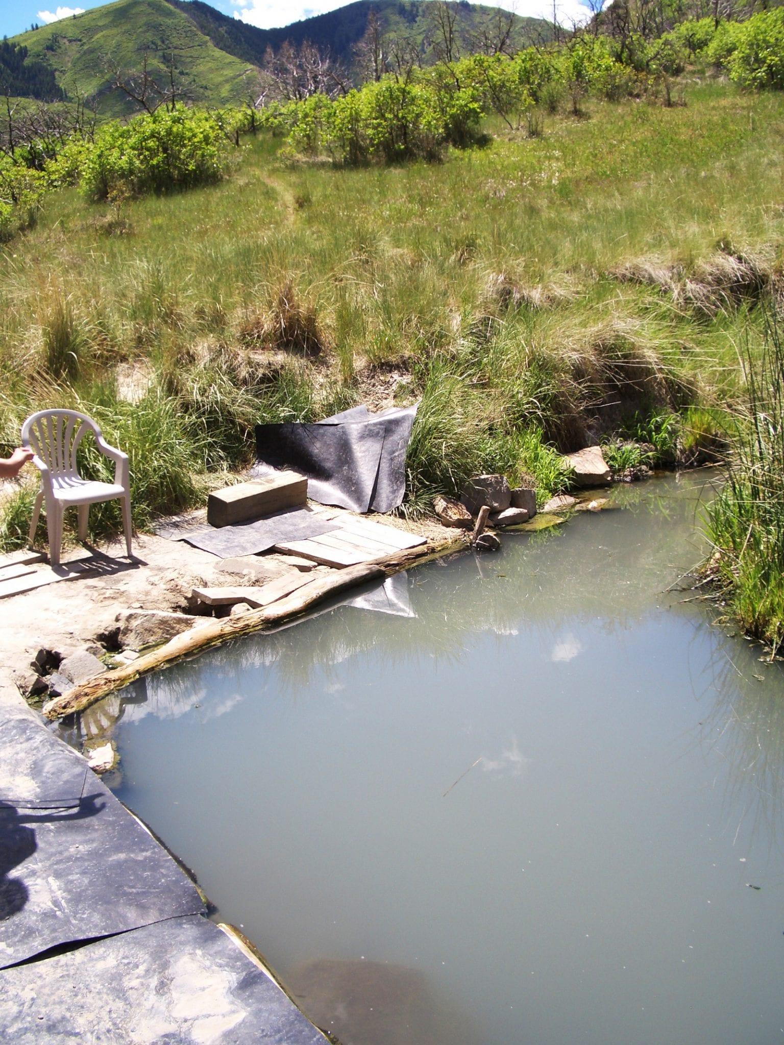 South Canyon Hot Springs Pool Garfield County Colorado
