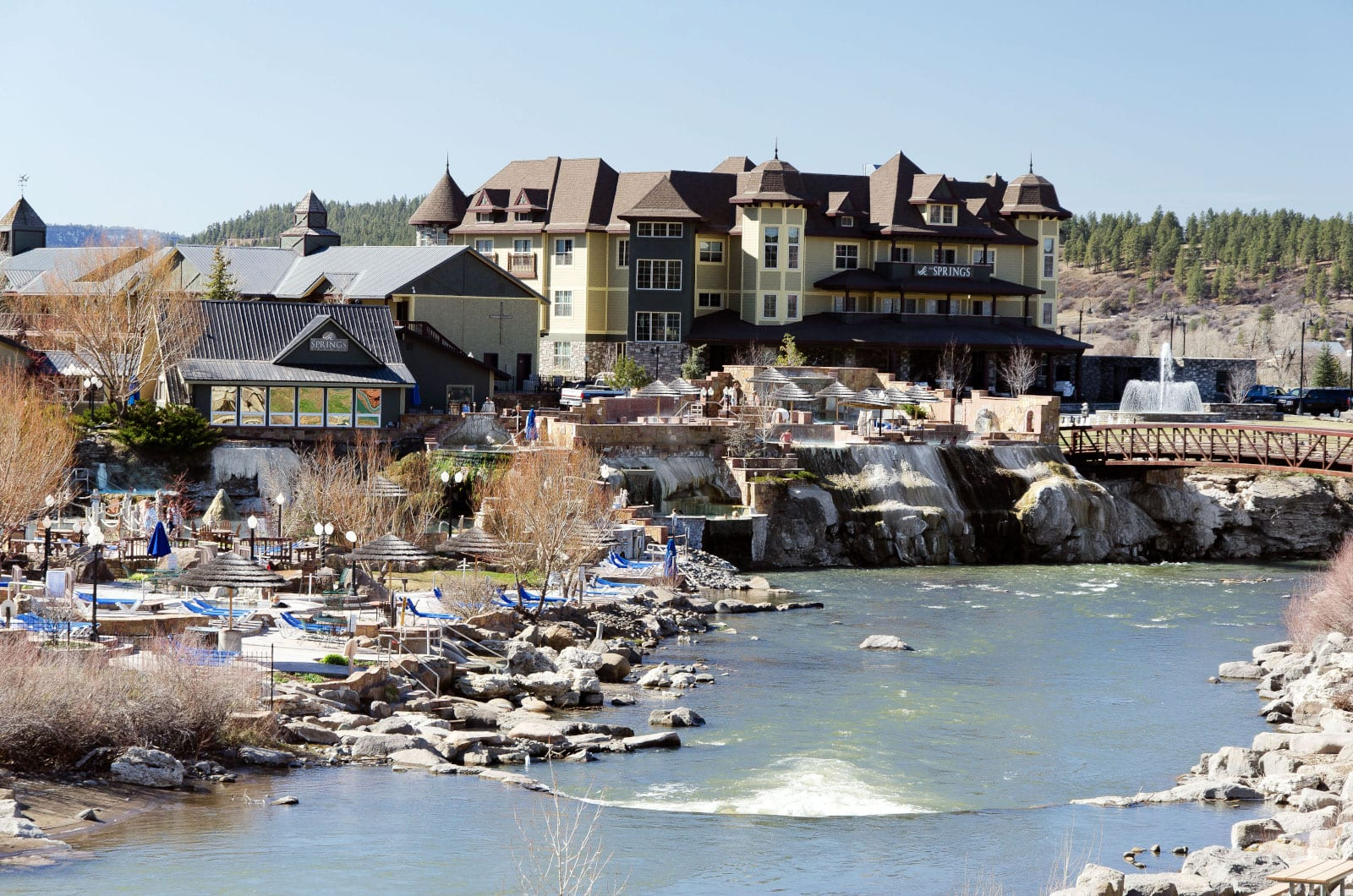 The Springs Resort Pagosa Springs Colorado San Juan River