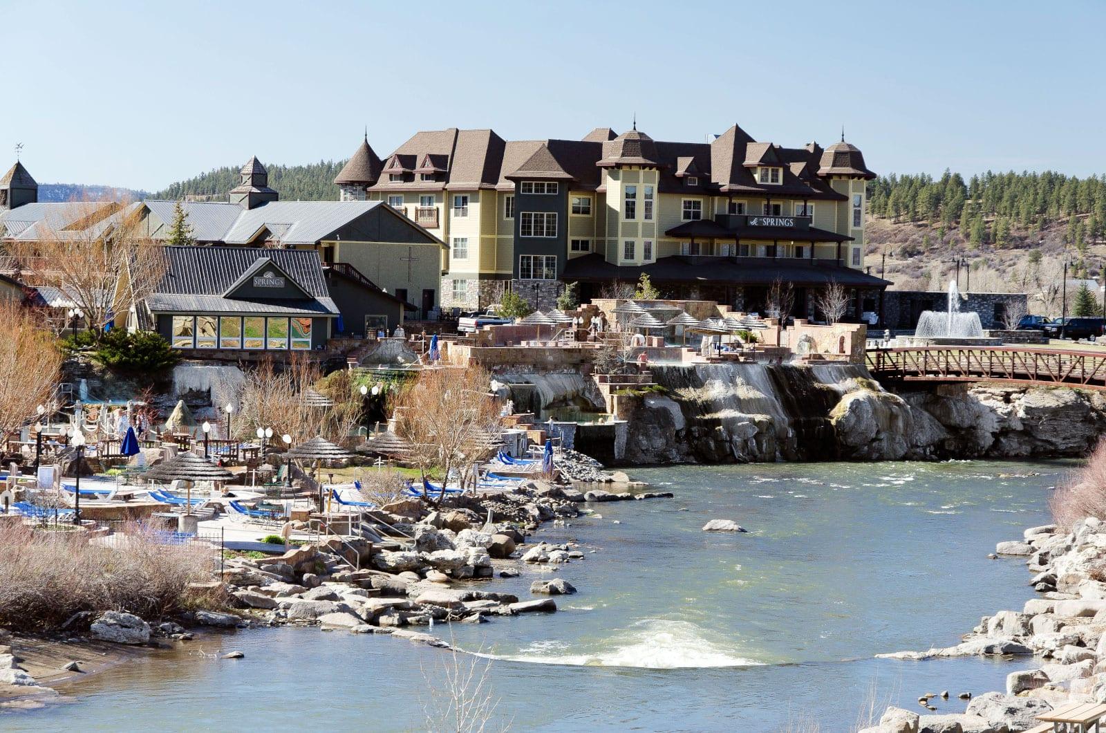 The Springs Resort Pagosa Springs Colorado San Juan River