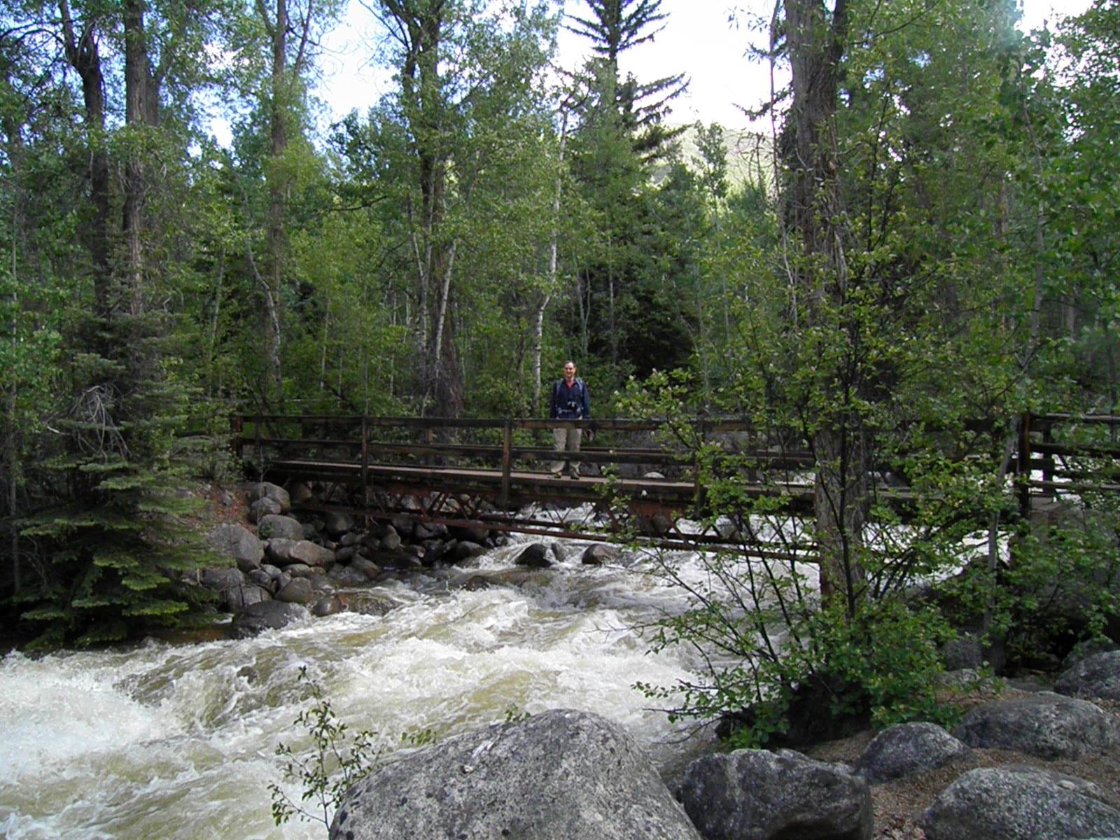 Top Aspen CO Hikes Hunter Creek Trail Bridge