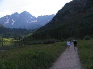 Top Aspen CO Hikes Maroon Bells Trail
