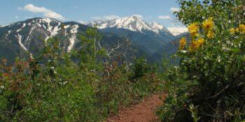 Top Aspen CO Hikes Sunnyside Trail Overlook