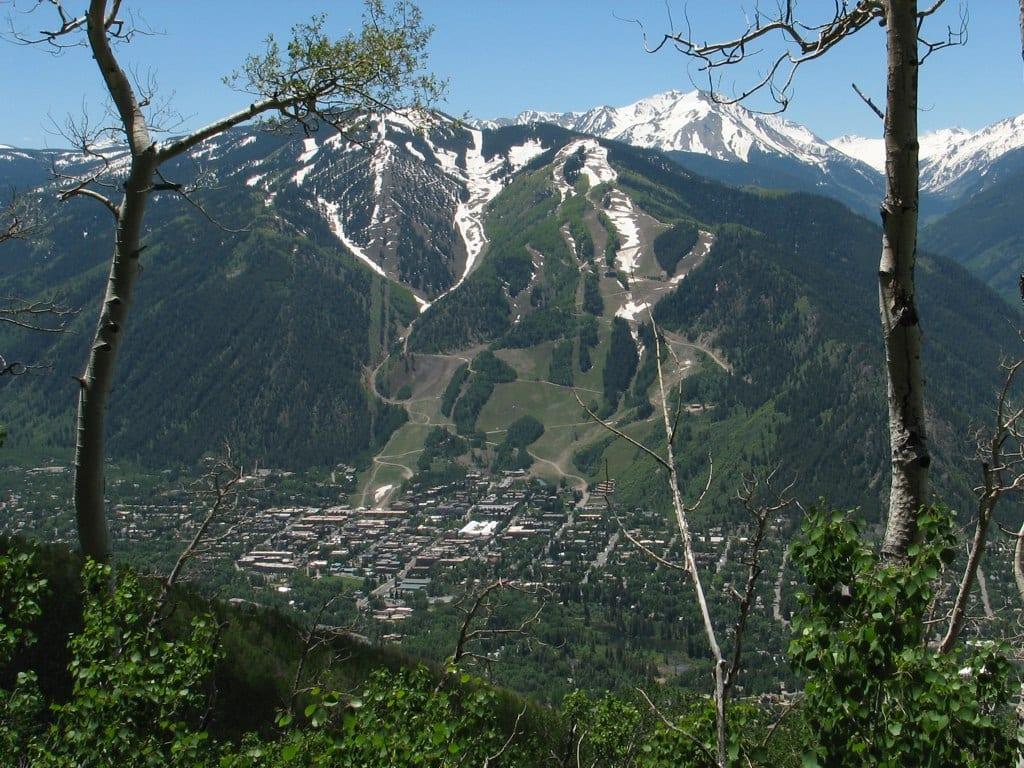 Sunnyside Trail Top Aspen CO Hike