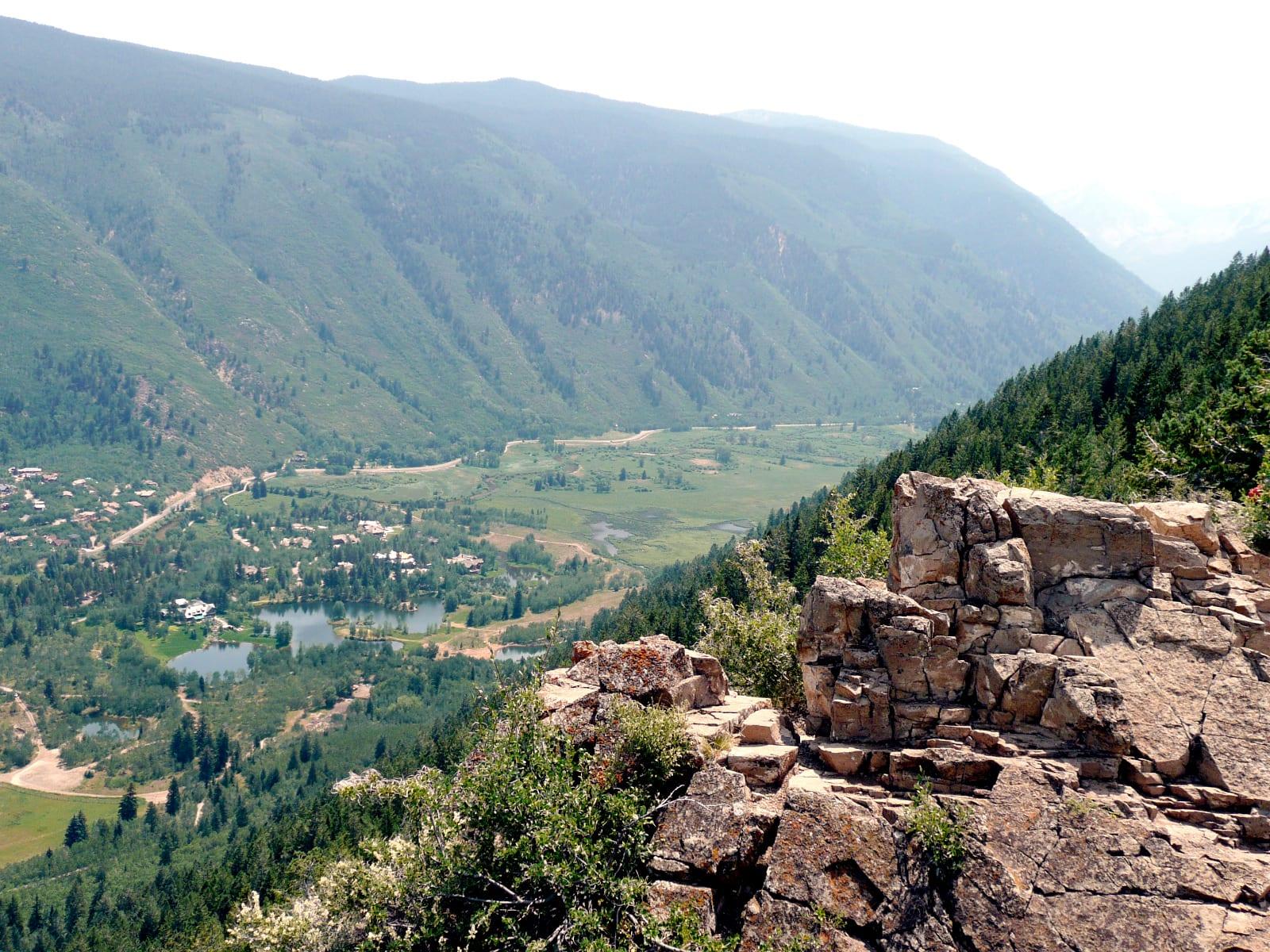 Top Hikes Ute Trail Summit Overlook Aspen Colorado