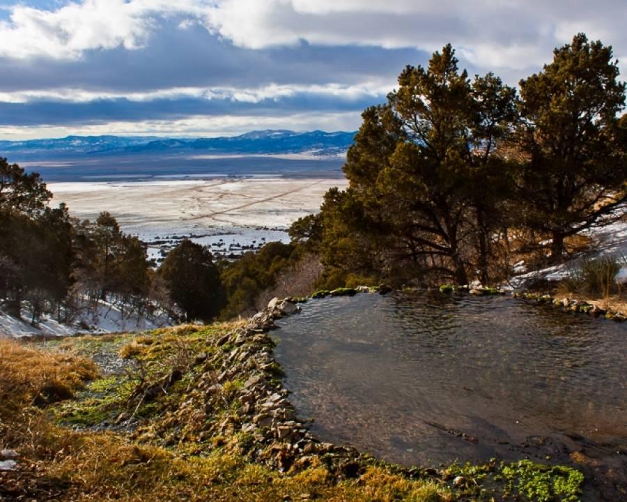 Valley View Hot Springs Rock Pool Villa Grove Colorado
