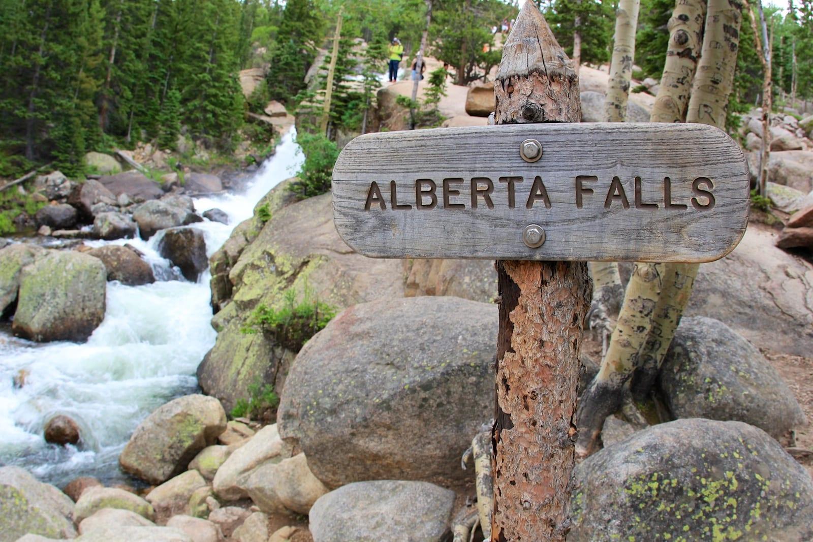 Alberta Falls CO