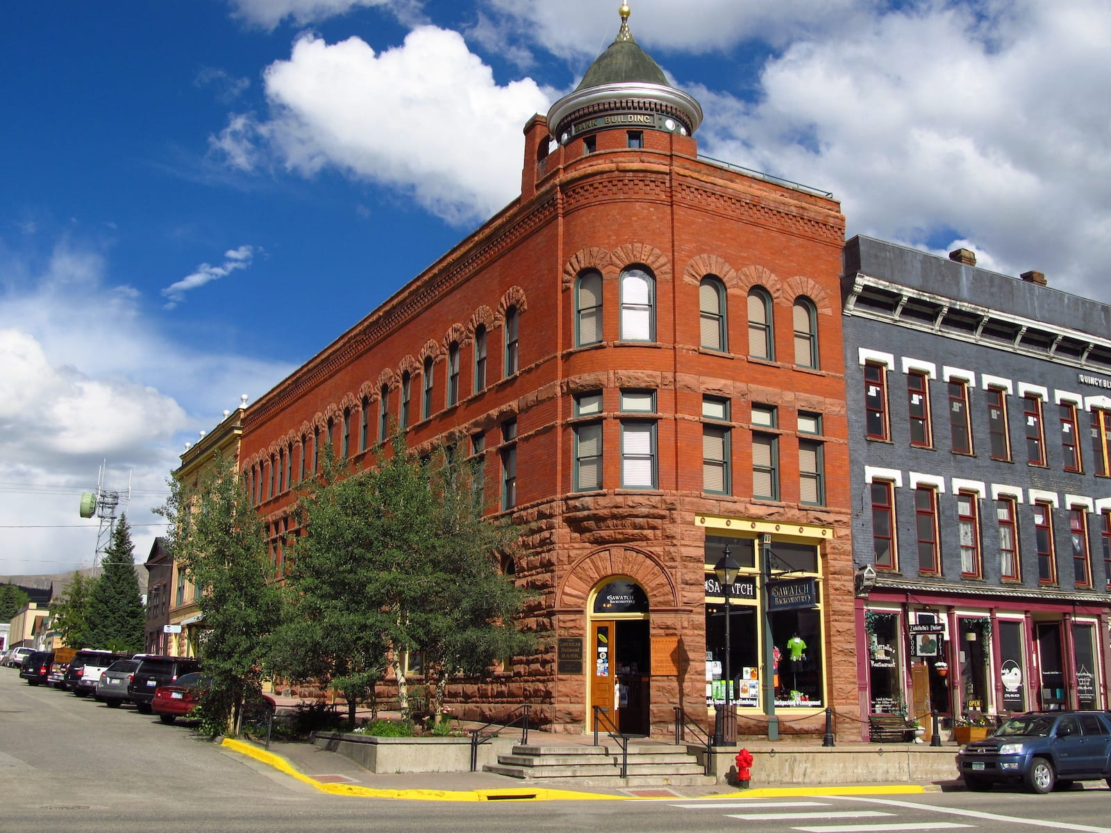 American National Bank Building at Leadville in Colorado