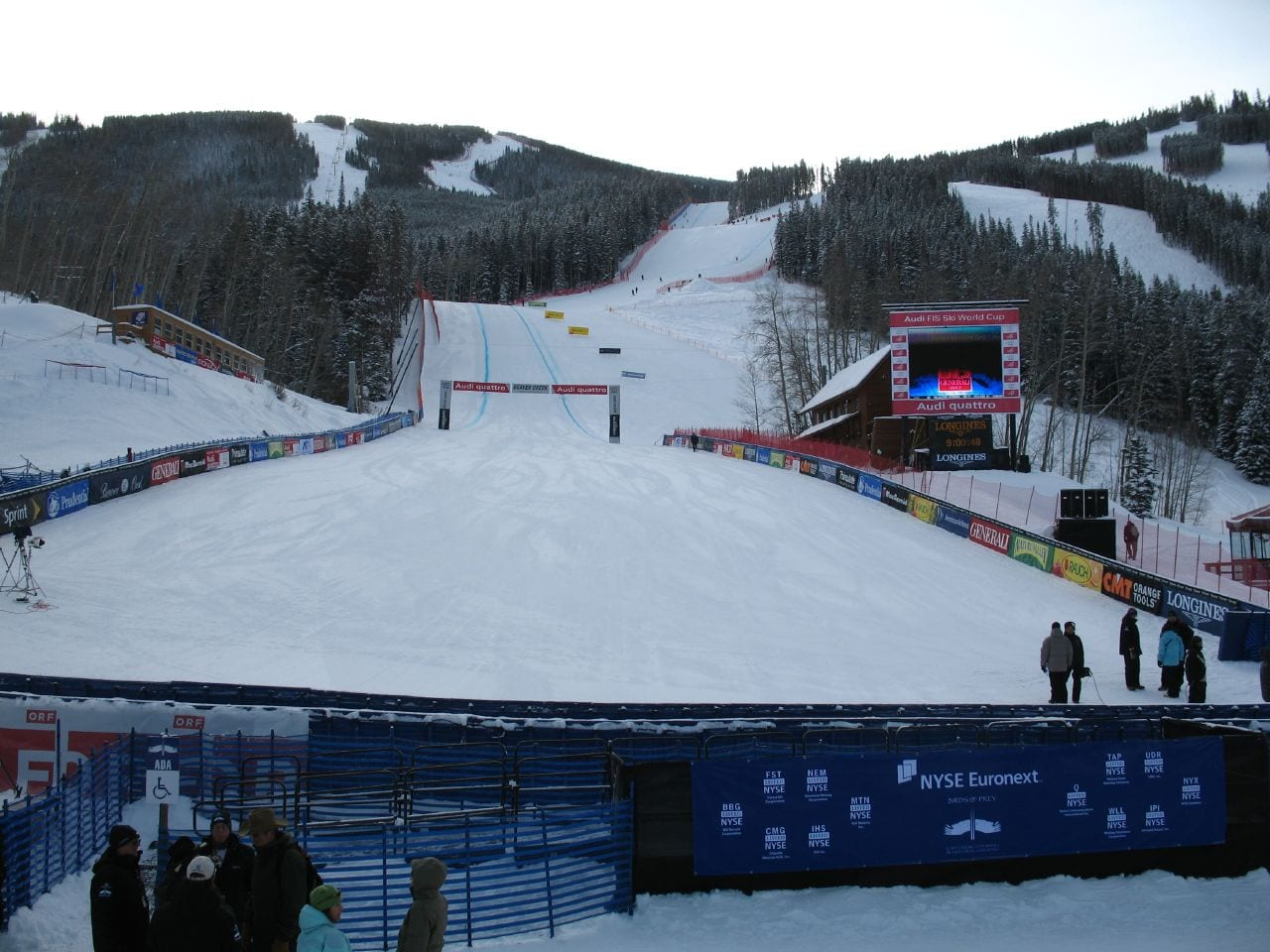 Birds of Prey World Cup Run, Beaver Creek, CO