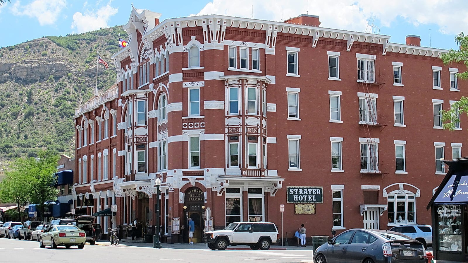 Historic Strater Hotel Durango Colorado