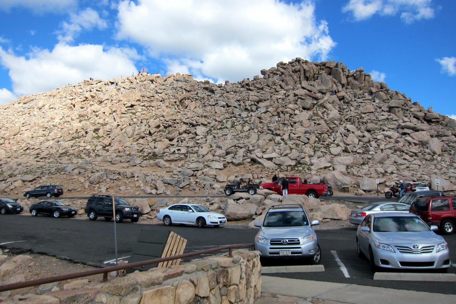 Mount Evans Byway Summit Colorado