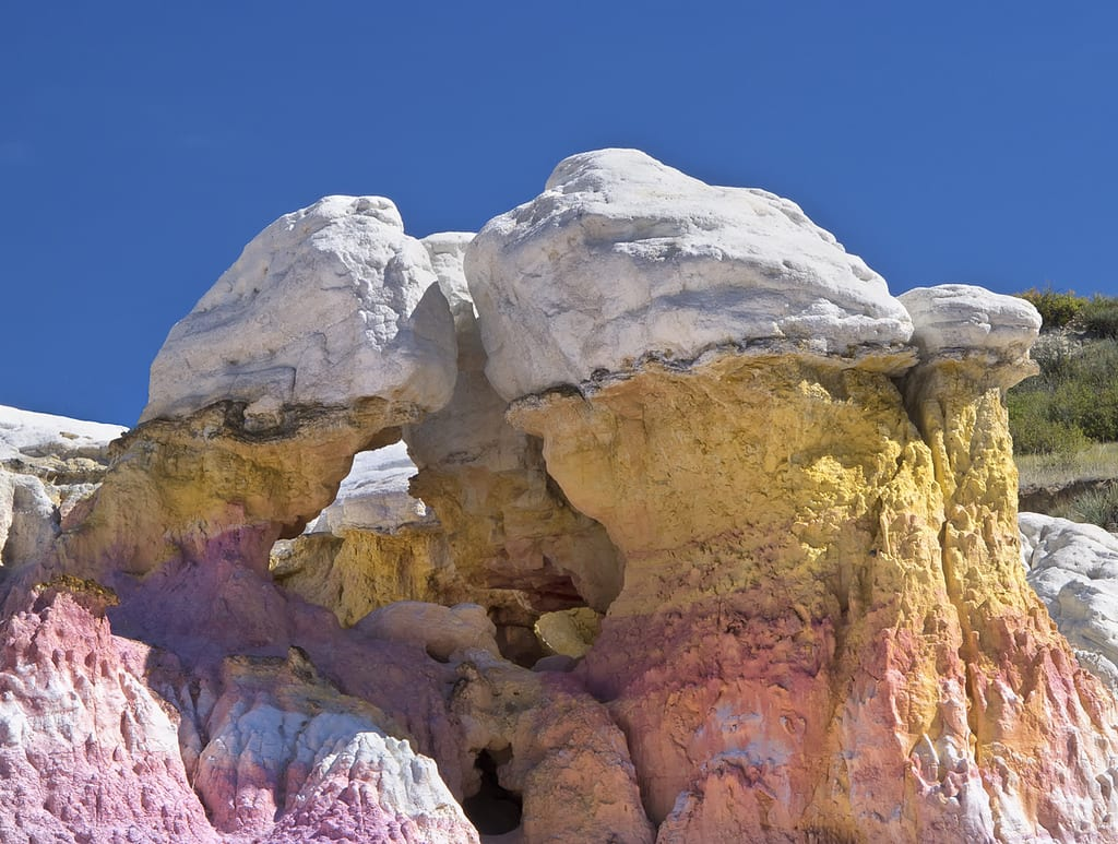 Paint Mines Interpretive Park Colorado
