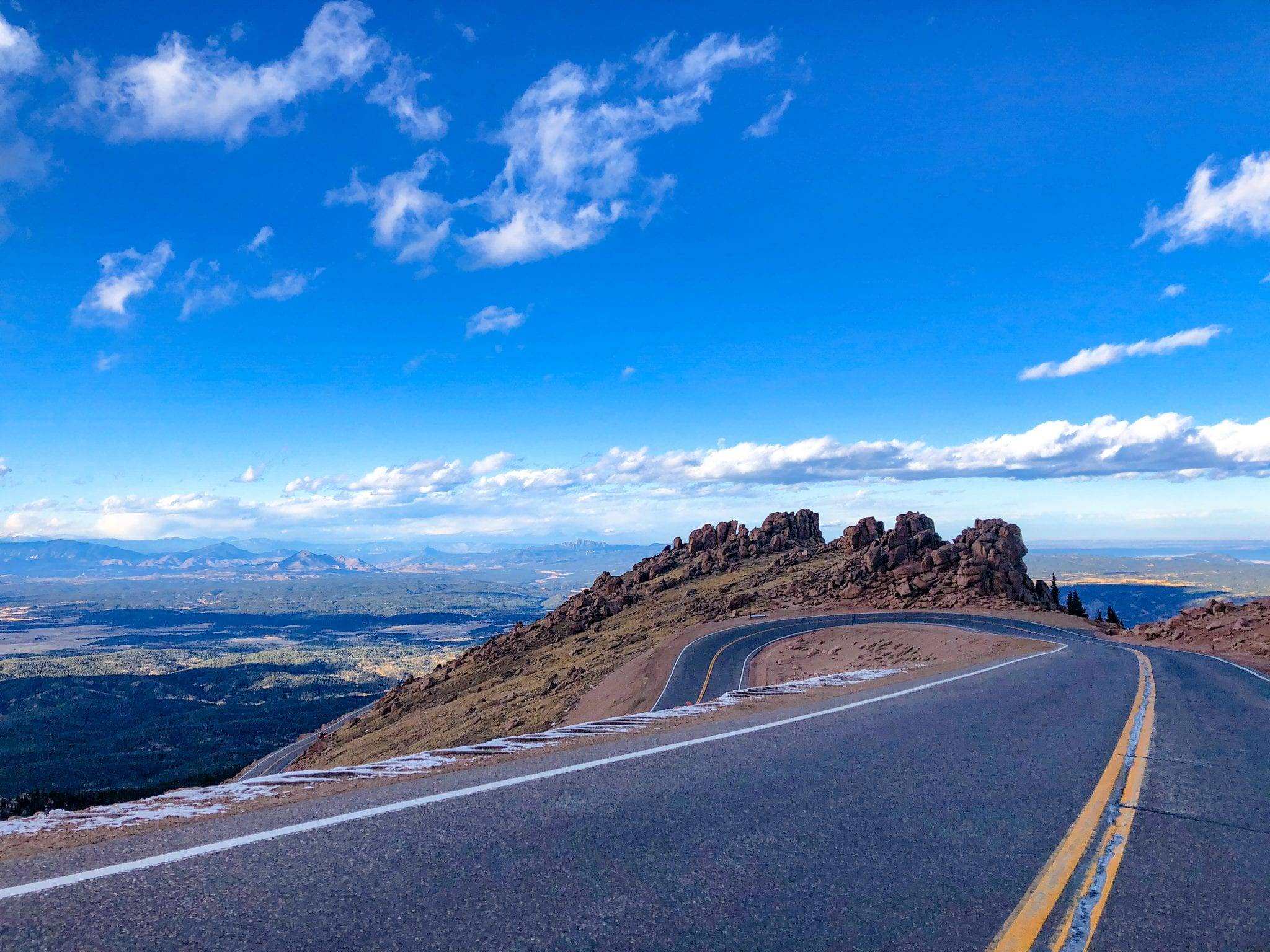 Pike's Peak near Woodland Park CO