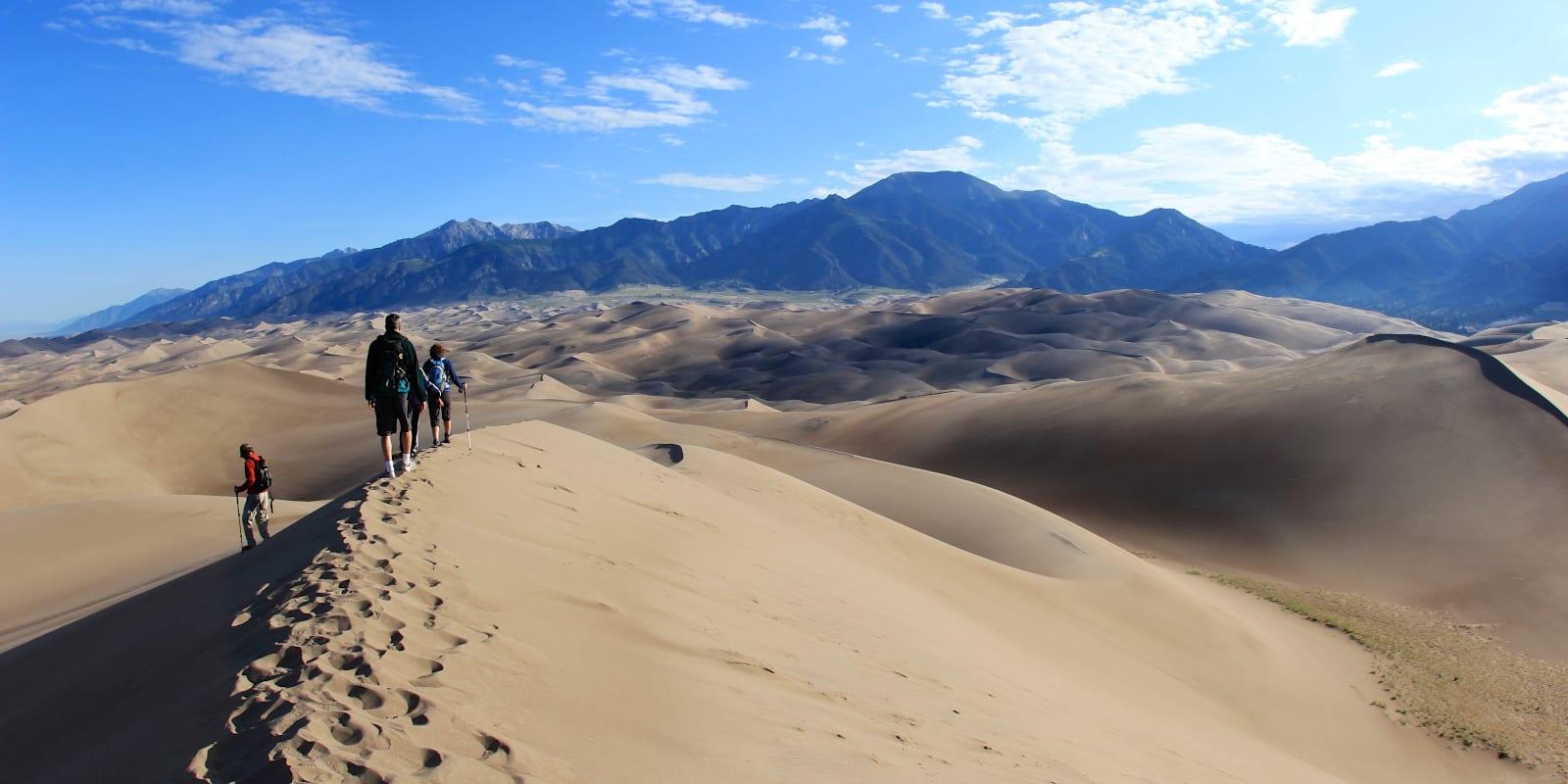 Sand Dunes National Park, CO