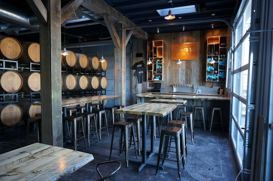 image of tasting room at Stem Ciders