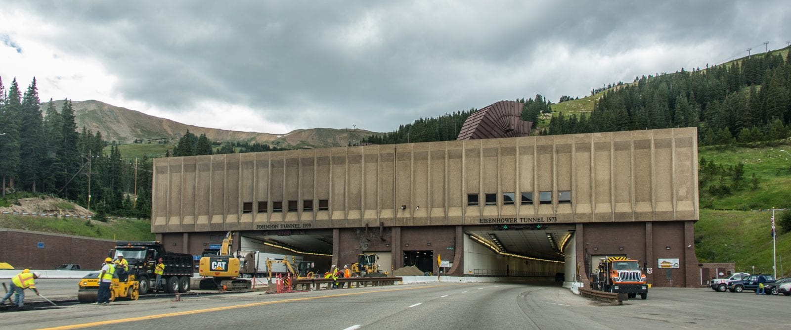 The Dwight Eisenhower Memorial Tunnel, CO