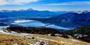 Twin Lakes, Colorado Aerial View