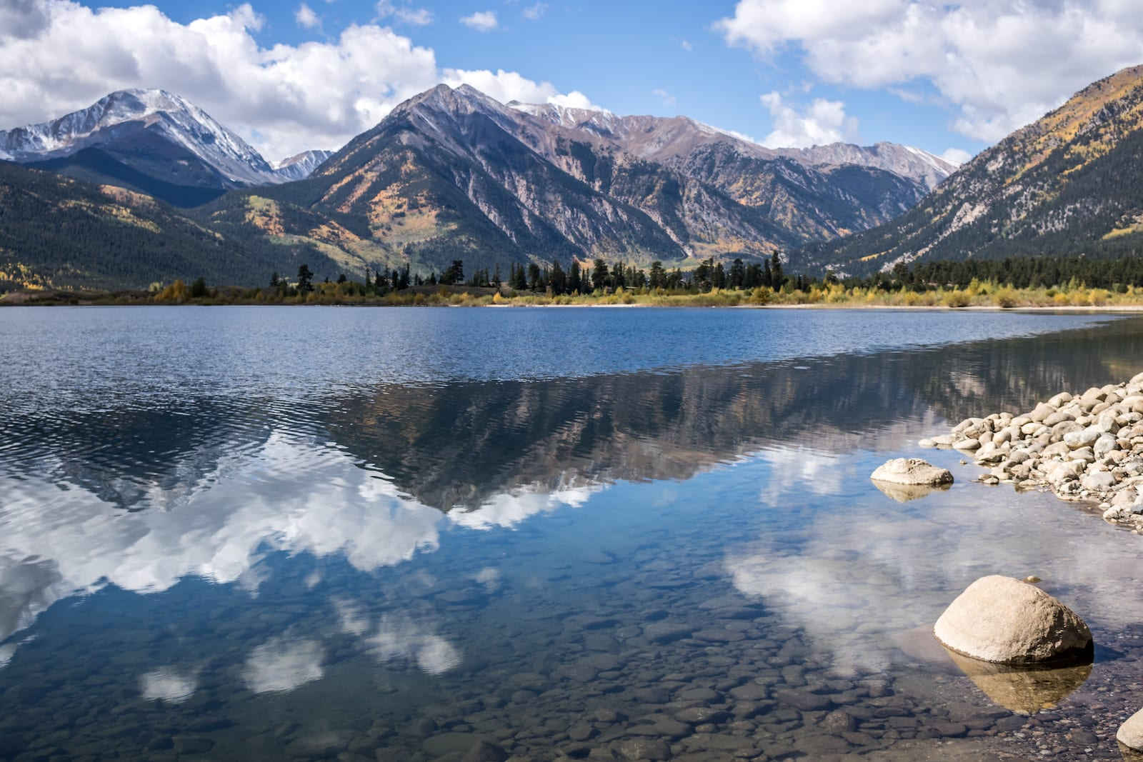 Views from Twin Lakes, Colorado.