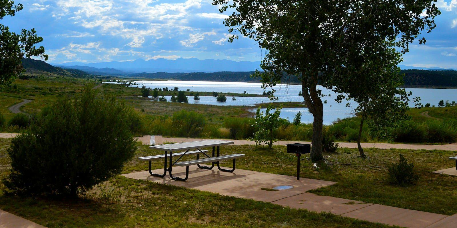 Trinidad Lake State Park Colorado Picnic Area