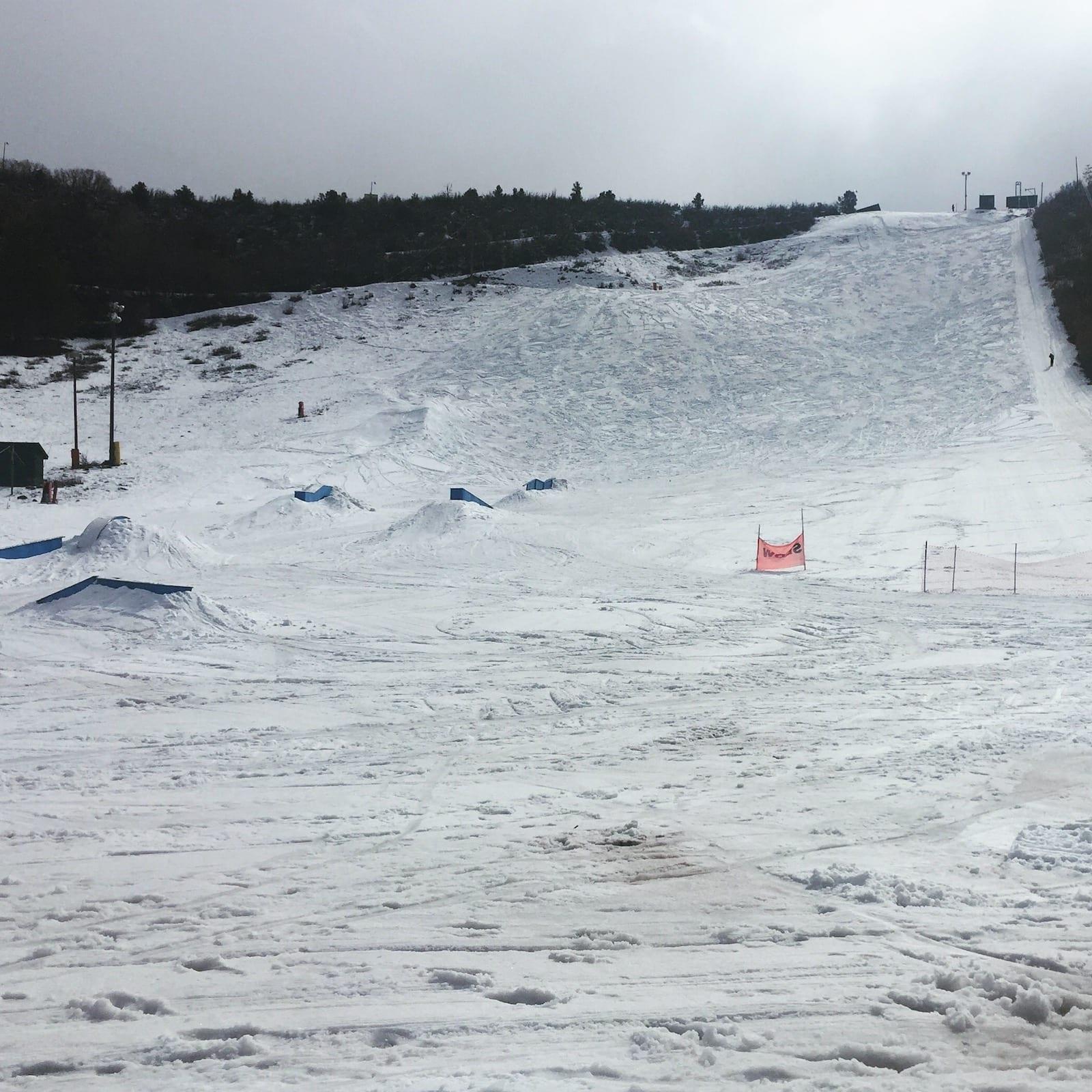 Chapman Hill Municipal Ski Area Durango Colorado Winter
