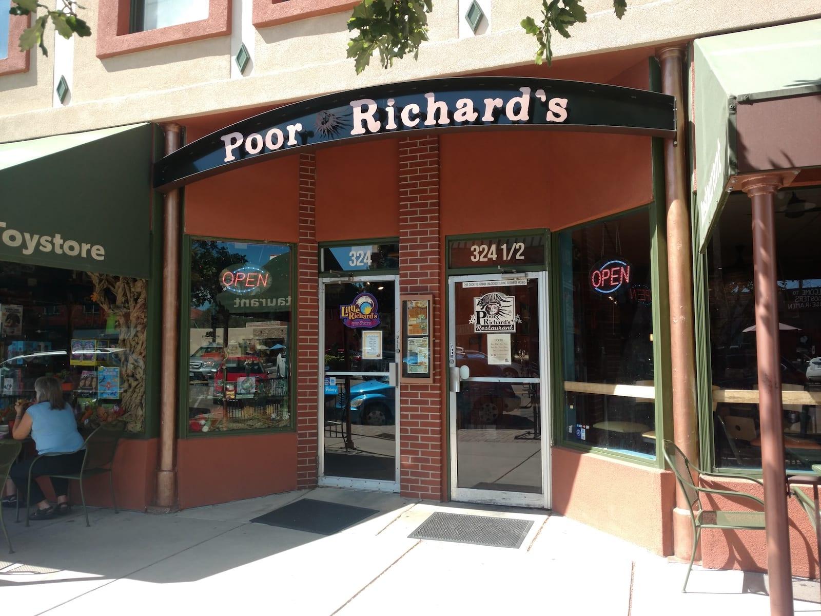 Poor Richard's Colorado Springs Tourist Attraction