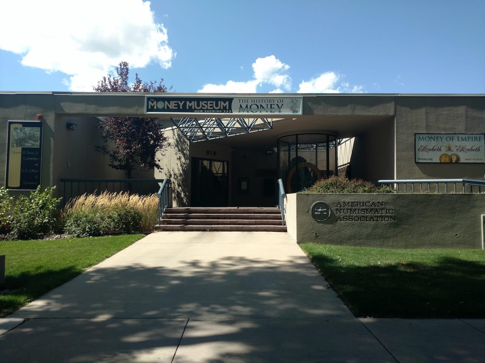 American Numismatic Association Money Museum Colorado Springs