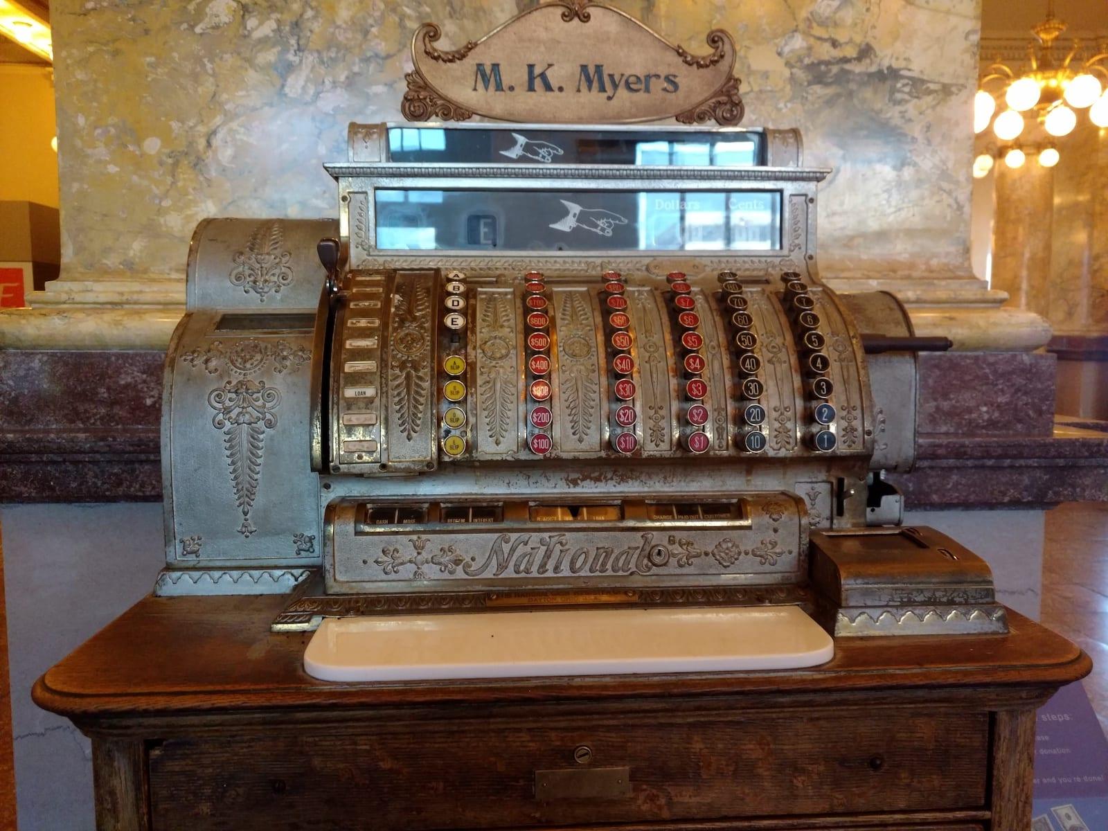 Colorado Springs Pioneers Museum Old Cash Register