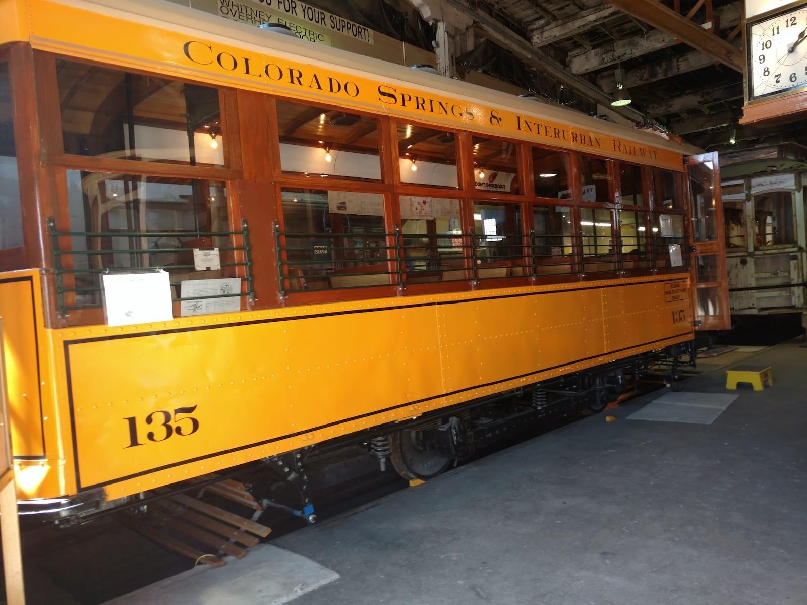 Pikes Peak Trolley Museum Train