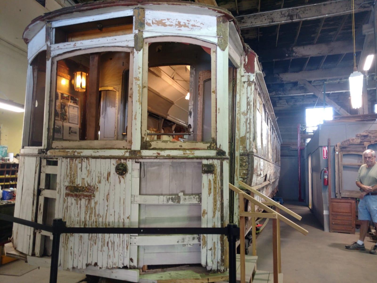 Pikes Peak Trolley Museum Vintage Train