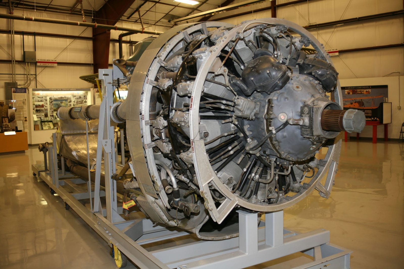 Colorado Springs National Museum of World War II Aviation Propeller Engine