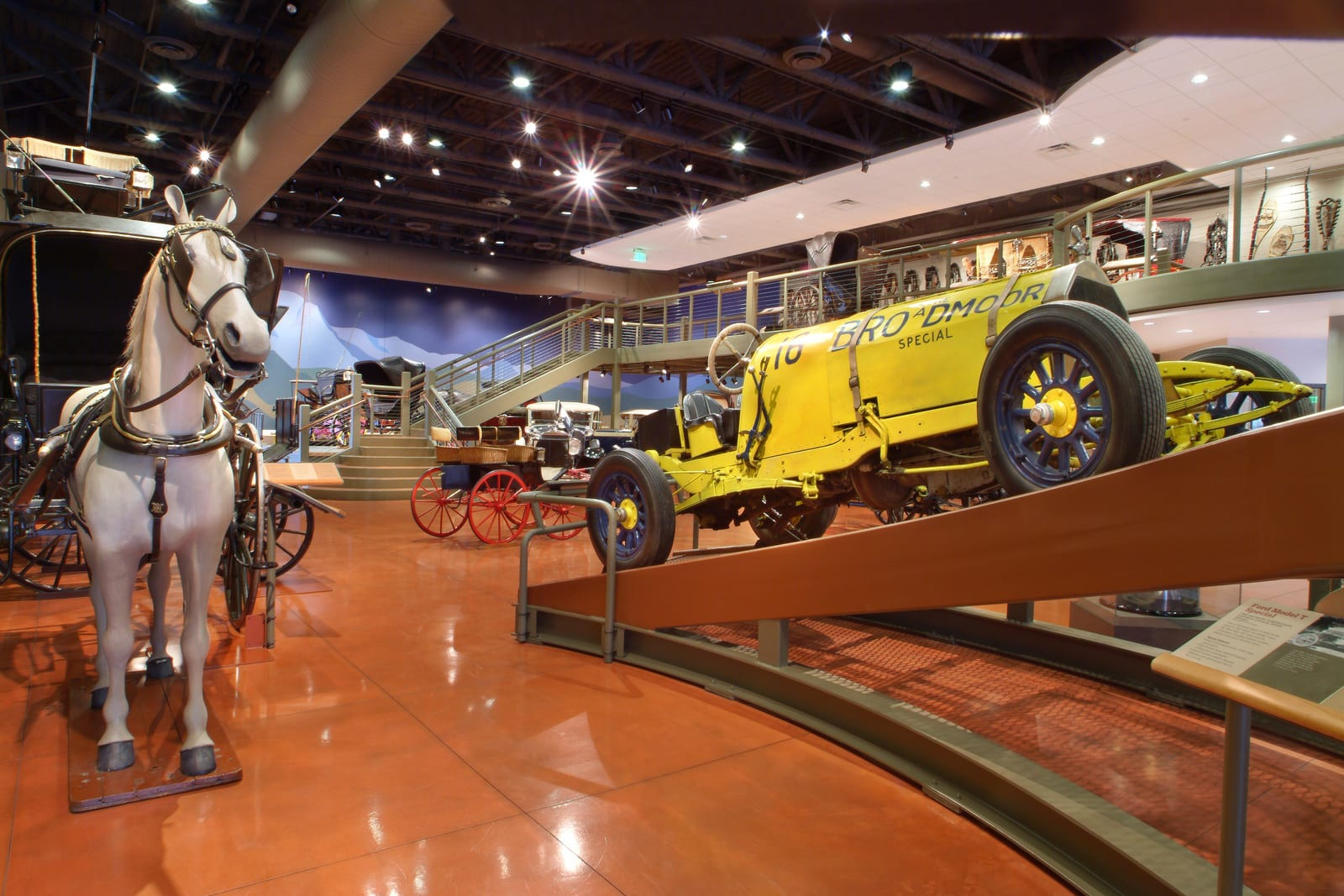 Colorado Springs Penrose Heritage Museum Vintage Transportation