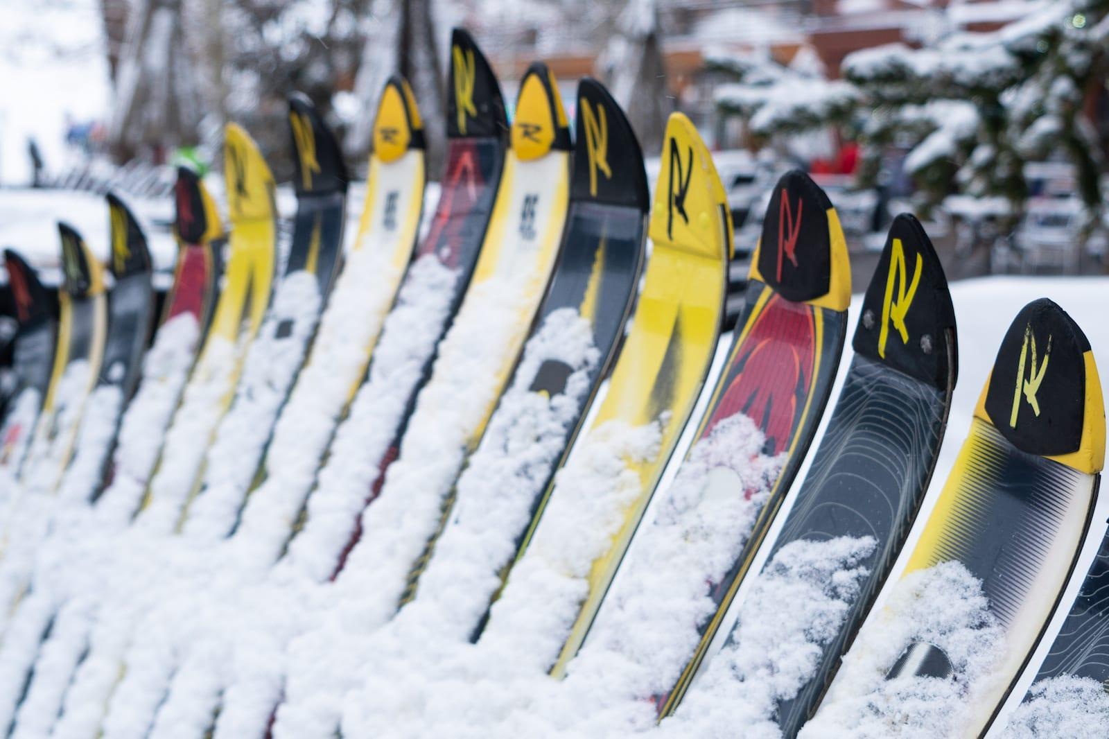Copper Mountain Resort Ski Fence