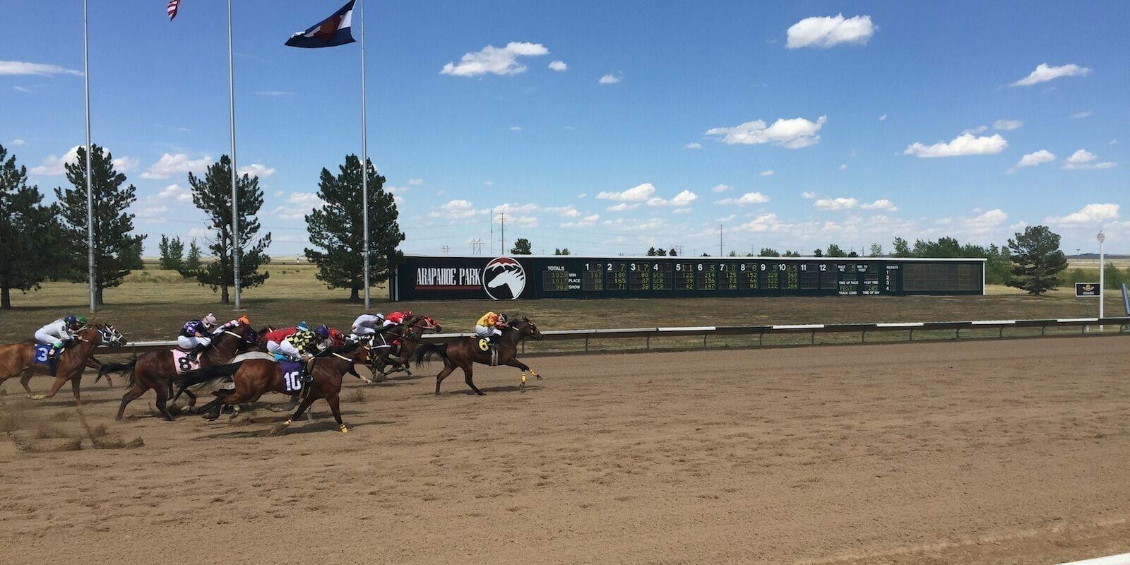 Colorado Horse Racing Arapahoe Park Racetrack Aurora