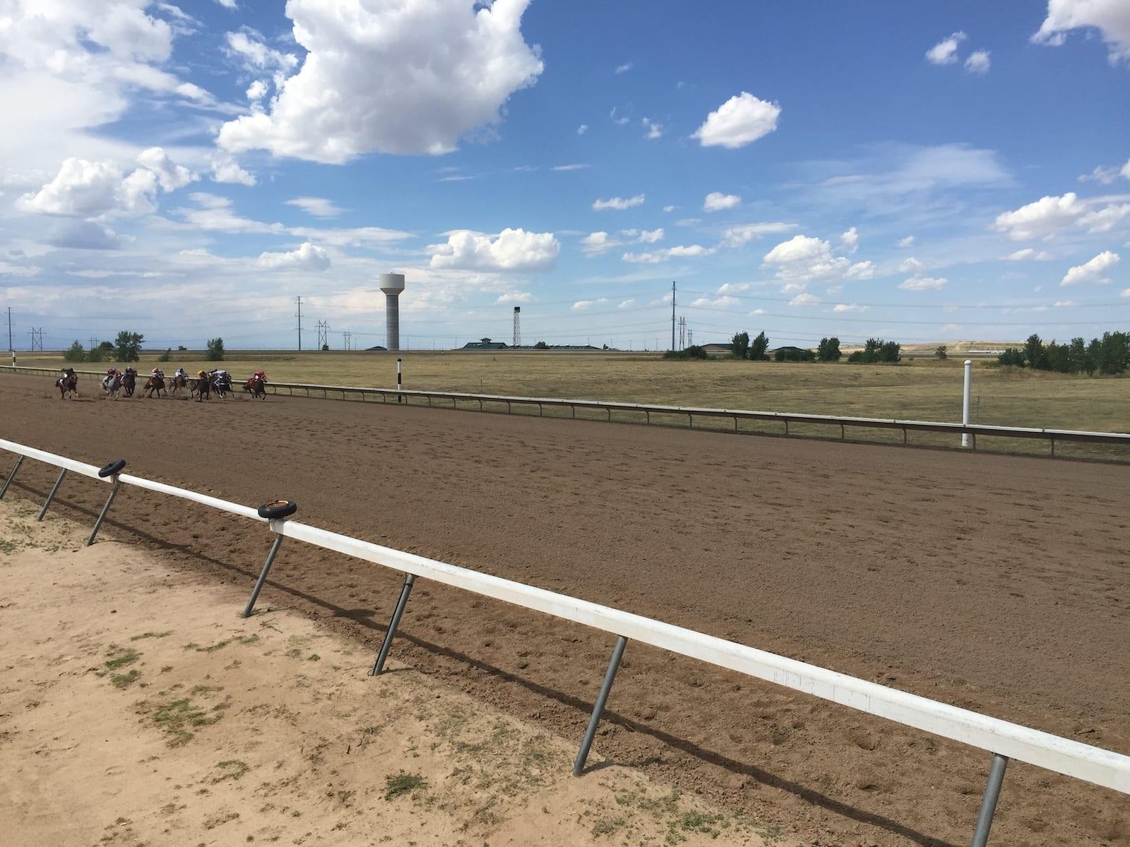Horse Racing Arapahoe Park Racetrack Aurora CO