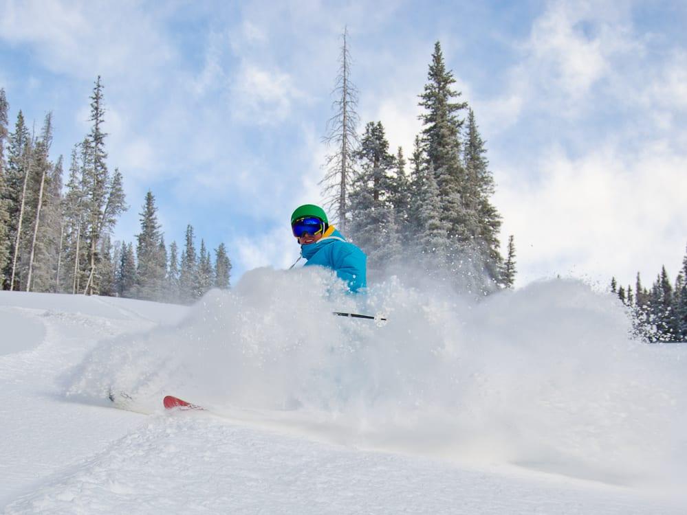 Keystone Ski Resort Winter Powder Day