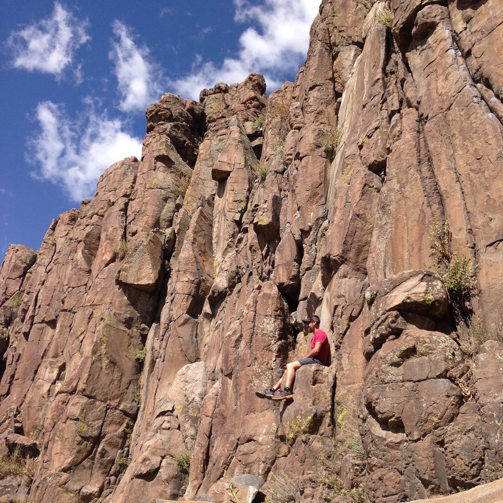 North Table Mountain Golden Cliffs Trail Golden Colorado