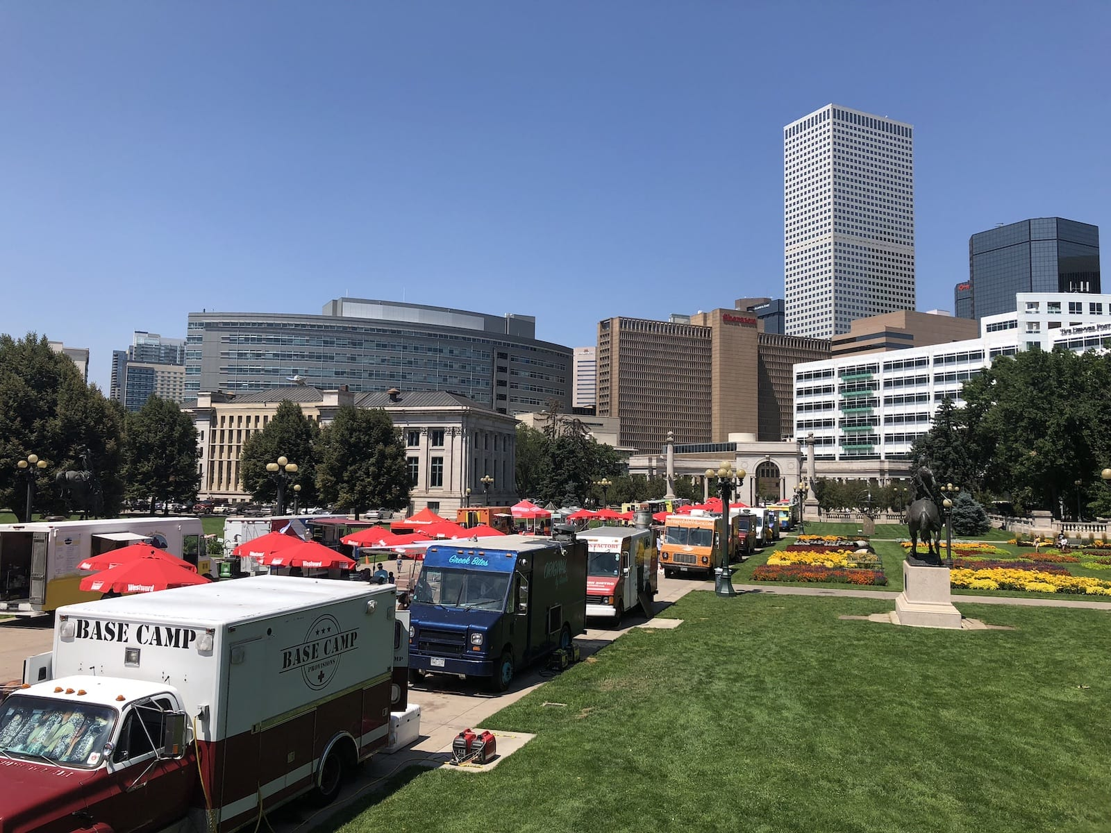 Downtown Denver Taste Of Colorado Food Trucks